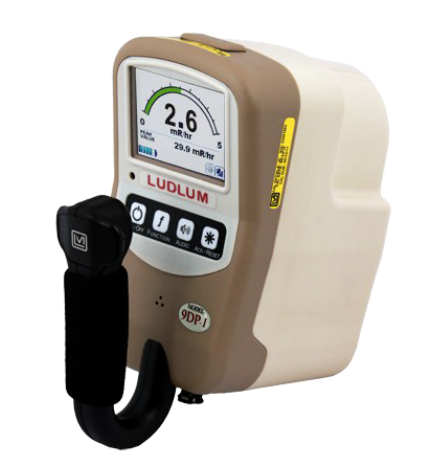 Ludlum Model 9DP-1 Ion Chamber Survey Meter