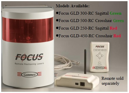Focus Remote Positioning Laser