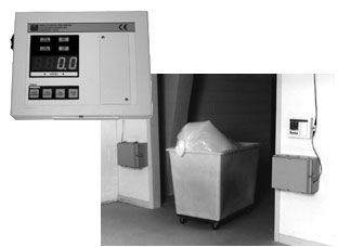 Model 375-30 Waste Monitor